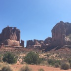 Hike Into Arches
